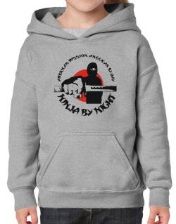 American Mission Anglican By Day, Ninja By Night Hoodie-Girls