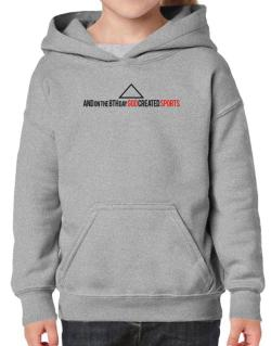 God Sports Hoodie-Girls