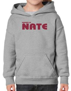 Property Of Nate Hoodie-Girls