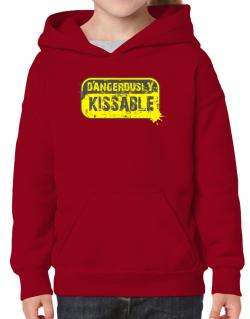 Dangerously Kissable Hoodie-Girls