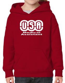 Usa Medical Assistant Hoodie-Girls