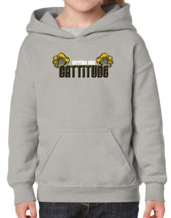 Egyptian Mau Cattitude Hoodie-Girls