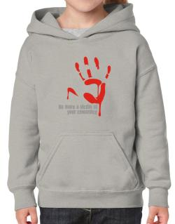No More A Victim Of Your Cowardice Hoodie-Girls