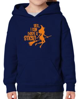 Yes, I Can Drive A Stick! Hoodie-Girls
