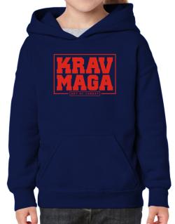 Krav maga art of combat Hoodie-Girls