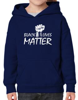 Black lives matter Hoodie-Girls