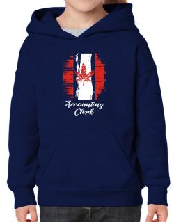 Accounting Clerk - Canada  Hoodie-Girls