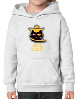 Got Rid Of The Kids, The American Wirehair Was Allergic Hoodie-Girls
