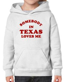 Somebody Texas Hoodie-Girls
