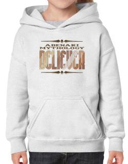Abenaki Mythology Believer Hoodie-Girls