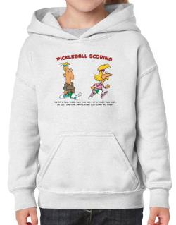 Pickleball Scoring Hoodie-Girls