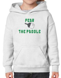 Fear the Paddle Pickleball Hoodie-Girls
