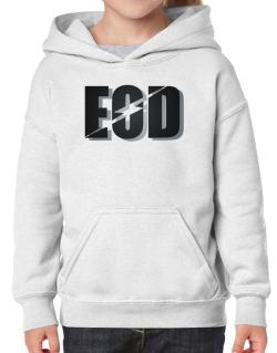 EOD explosive ordinance disposal Hoodie-Girls