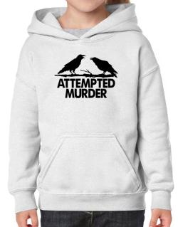 Crows Attempted Murder Hoodie-Girls
