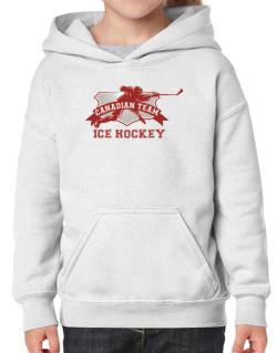 Canadian team ice hockey Canada Hoodie-Girls