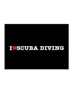 I Love Scuba Diving Sticker