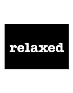 relaxed  Sticker