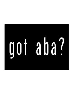 Got Aba? Sticker