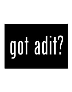 Got Adit? Sticker