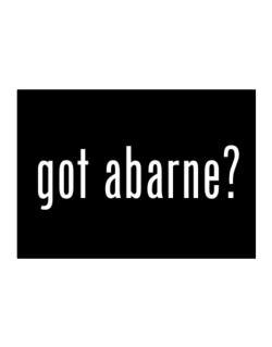 Got Abarne? Sticker