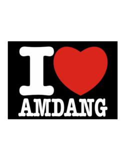 I Love Amdang Sticker