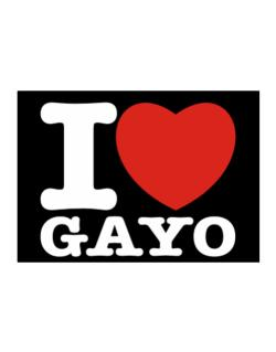 I Love Gayo Sticker