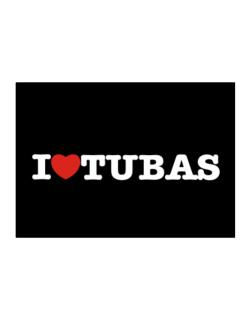 I Love Tubas Sticker