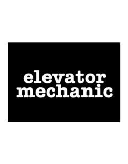 Elevator Mechanic Sticker