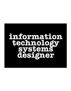 Information Technology Systems Designer Sticker