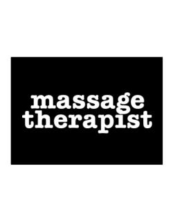 Massage Therapist Sticker