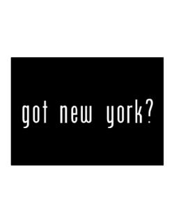 Got New York? Sticker