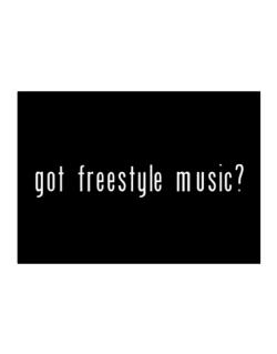 Got Freestyle Music? Sticker
