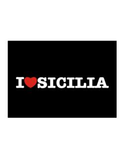 I Love Sicilia Sticker
