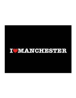 I Love Manchester Sticker