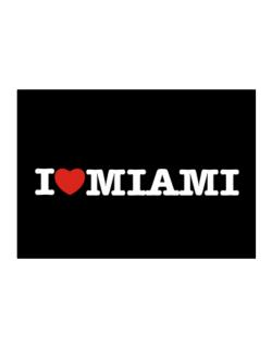 I Love Miami Sticker