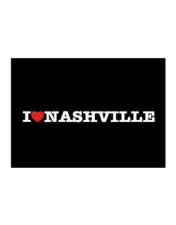 I Love Nashville Sticker