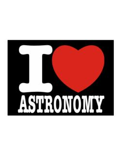 I Love Astronomy Sticker