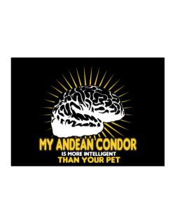 My Andean Condor Is More Intelligent Than Your Pet Sticker