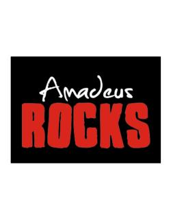 Amadeus Rocks Sticker