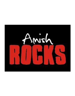 Amish Rocks Sticker