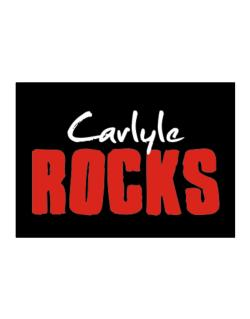 Carlyle Rocks Sticker