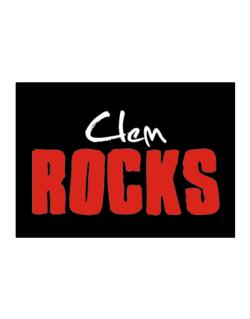 Clem Rocks Sticker