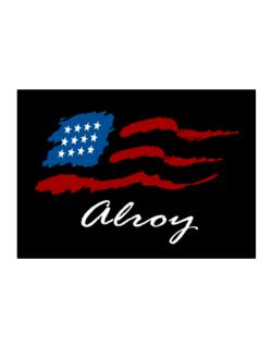 Alroy - Us Flag Sticker