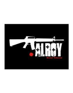 Alroy Street Veteran Sticker