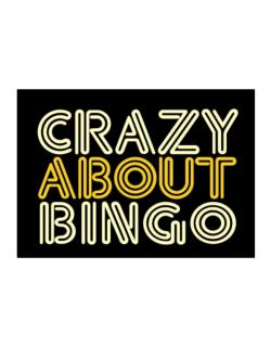 Crazy About Bingo Sticker