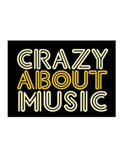 Crazy About Music Sticker