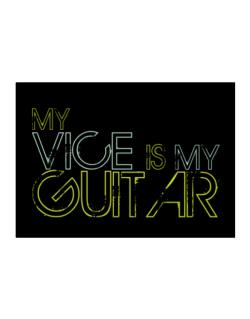 My Vice Is My Guitar Sticker