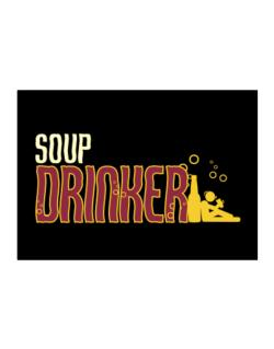 Soup Drinker Sticker