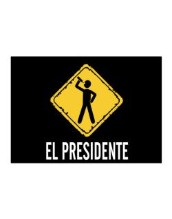 El Presidente Sticker