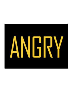 Angry - Simple Sticker